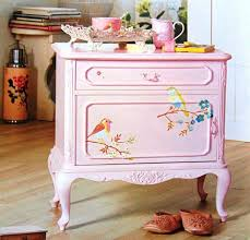 painting furniture ideas. bird painting ideas for wooden furniture decoration r