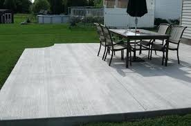 plain concrete patio. Plain Backyard Stamped Concrete Patios Patio Companies Basic Deck Designs . C