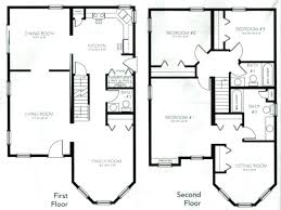 4 bedroom 2 story house plans beautiful 4 bedroom 2 y house plans 4 bedroom 2