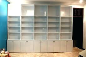 bookshelf with glass doors ikea billy