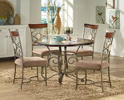 Kitchen Table Sets Under 300 Steve Silver Thompson 5 Piece Counter Height Metal Base Table And