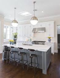 I Really Like White Cabinets With Gray Counters The Blue Island