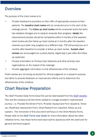 Asap Chart Review Instructions For Emr Based Charts Pdf
