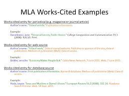 Cited Works Mla Format Citation Machine Format Generate Citations Apa Mla Chicago