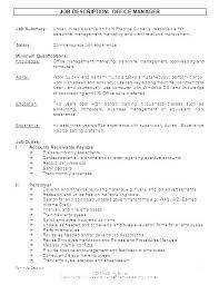 Personnel Management Job Description How Job Scope Template Job Descriptions Template