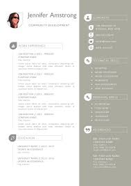 Two Column Resume Template Word Free For You Top 6 Resume Templates