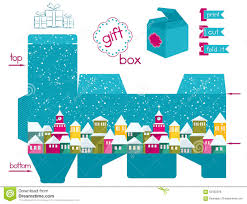 box christmas gift box template templates christmas gift box template medium size