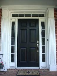 front doors with side panels front door before and after photos before picture black front door
