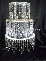 great how to make a crystal chandelier cake stand beautiful website centerpiece diy with light at