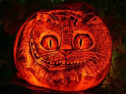 Cat Jack O Lantern Pattern Interesting Inspiration Design
