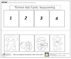 Free printable kindergarten sequencing worksheets   Download them or ...