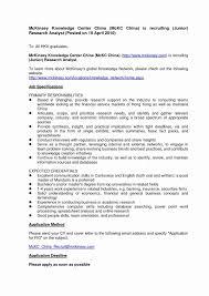 Resume Format For Doctors 45 Unique Sample Resume For Job