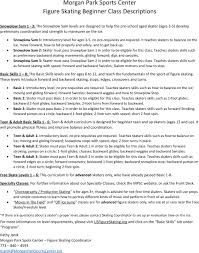 summer schedule beverly morgan park sports center mpsc skating class list summer 2