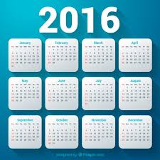 Resultado de imagen de imagenes de calendario infantil 2016