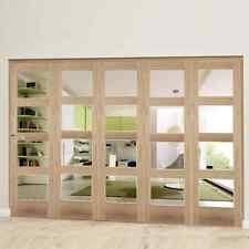 glass bifold doors. Shaker 4 Light Clear Bifold Doors - OAK Glass Internal Door System