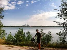 Image result for lake nokomis bike riding