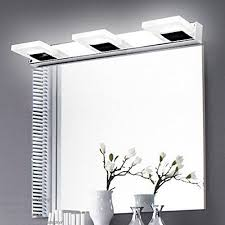 modern bathroom lighting. comeonlight 9w bathroom vanity light 360 degree rotation modern make up mirror fashion led wall cabinet 3lights daylight white lighting