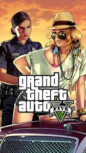 gta 5 woman cop frisk me iphone 5 wallpaper
