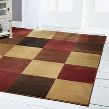 modern abstract multi 6x8 area rug squares carpet actual 5 3