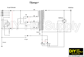 django tvc preamp builder s guide wiring sequences and schematic