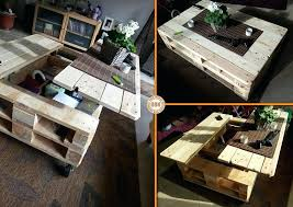 pallet coffee table primst multifunction refrigerator 40 bluetooth speakers gold full size