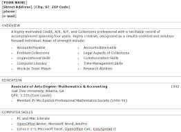 Gallery Of The Brilliant Accounts Receivable Specialist Resume