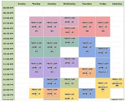 create college class schedule making class schedule magdalene project org