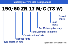 Tire Height Chart 17 Motorcycle Tyre Size Designations