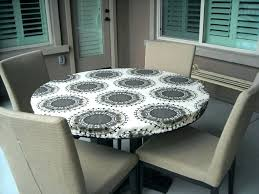 elasticized table cover vinyl tablecloth with elastic edge round