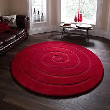 Image Safavieh Vintage Hamadan Land Of Rugs Spiral Red Rug