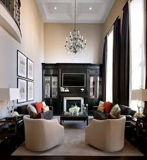 Decorating Rectangular Living Room Model Unique Design