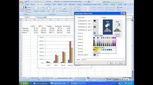 Excel 2007 Graphs Change Default Colors