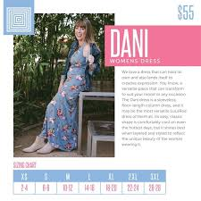 Here Is The Sizing Chart For The Stunning Dani Dress Www
