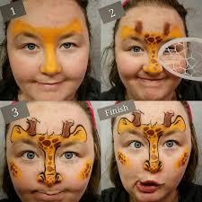 easy animal face paint