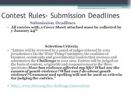 "do the write thing essay contest contest rules ""students use  4 contest"