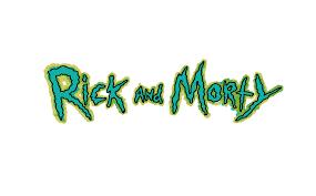 Schriftzug – Rick and Morty