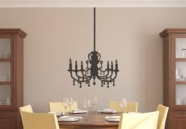 wall decal chandelier a beautiful chandelier miscellaneous