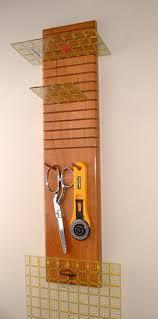 Custom Woodworking, Quilting Tools and Accessories, Quilt Hangers ... & Hanging Ruler Rack Adamdwight.com