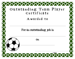 Free Soccer Certificate Templates Soccer Certificate Templates Blank K5 Worksheets