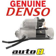 Genuine Denso Starter Motor fits Toyota Landcruiser 4.5L V8 Turbo ...