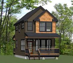 tiny house vacations. Two Story Tiny House Plan | Cabins Vacations T