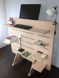 Functional Standing DIY Computer System Work desk