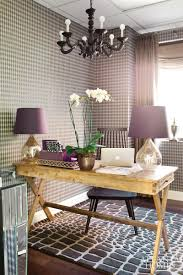 purple office decor. I Like How The Writing Desk Is Placed, Purple Rustic Glamour Glam Home Office Decor H