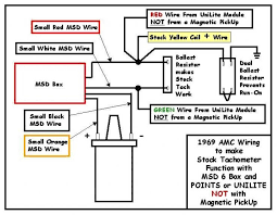 amc wiring diagram ballast resistor wiring diagram the wiring diagram msd wiring for 77 hornet amx the amc forum