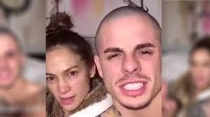 jlo singing without make up on insram jennifer lópez singing with casper smart without make up you