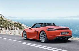 In Photos New Cars Coming To Canadian Showrooms Porsche 718 Boxster Porsche Boxster Boxster S