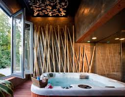 Bathroom With Hot Tub Interior New Decorating