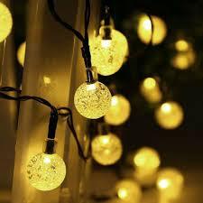 Bulb Fairy Lights Details About Festoon Globe Bulb Solar Led String Lights Outdoor Led Ball String Fairy Light