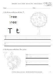 Letter T Worksheets Letter T Worksheets For Preschool Alphabet ...