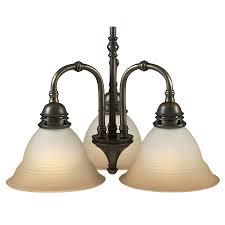 portfolio 3 light libbe antique brass chandelier at com